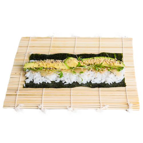 oryza nattes bambou pour maki