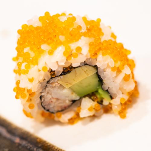 oryza sushi Uramaki Crabe-Avocat-Omelette