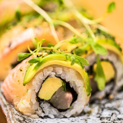 oryza sushi uramaki deluxe poisson d'eau douce