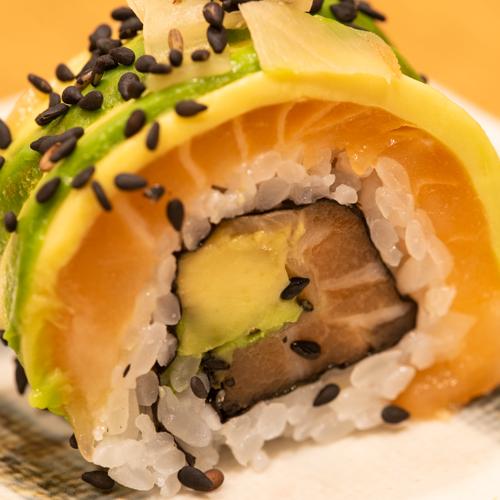 oryza sushi uramaki deluxe saumon avocat