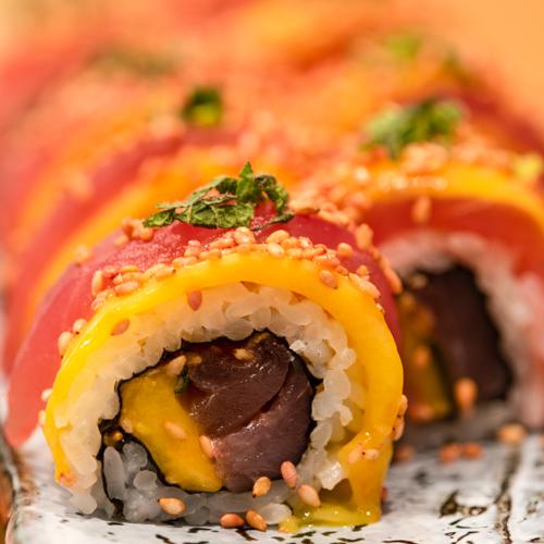 oryza sushi uramaki deluxe thon mangue