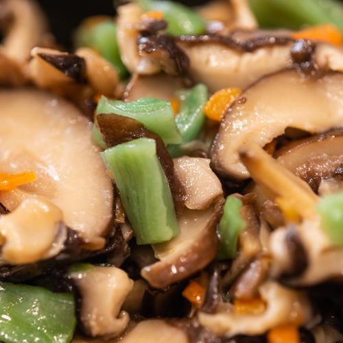 oryza sushi Salade de Shiitake assaisonnés