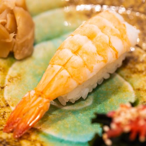 "oryza sushi Nigiri Crevette ""Ebi"""