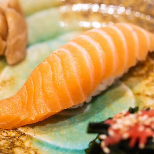 """oryza sushi Nigiri Saumon """"Sake"""""""