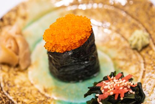 oryza sushi gunkan maki tobiko