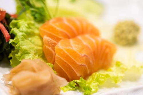 oryza sushi sashimi saumon