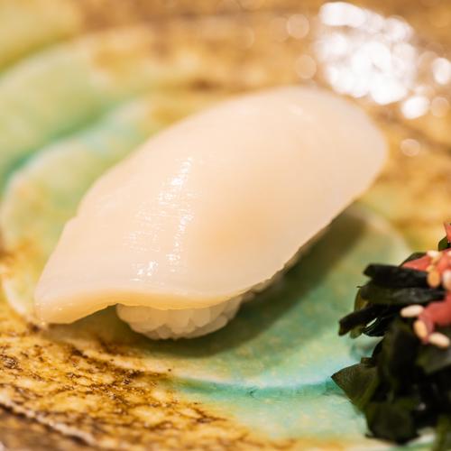"""oryza sushi Nigiri Noix de St-Jacques """"Hotate"""""""