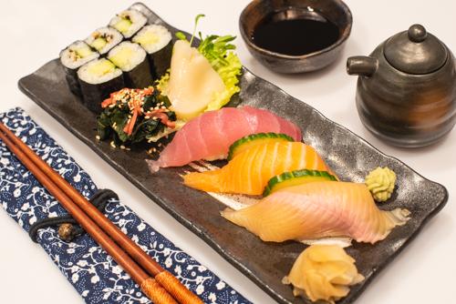oryza sushi oryza sushi assiette 10pces
