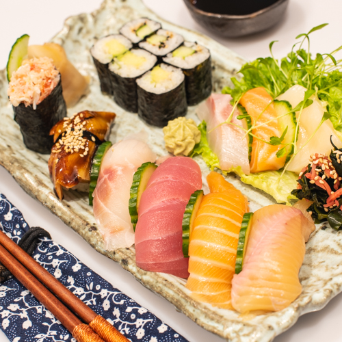 oryza sushi oryza sushi assiette 15pces