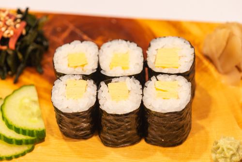 oryza sushi maki omelette