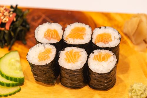 oryza sushi maki saumon