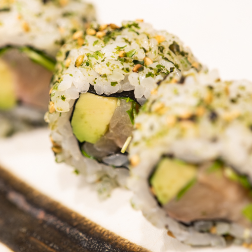 oryza sushi Uramaki Poisson d'eau douce & Avocat