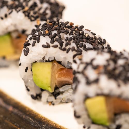 oryza sushi Uramaki Saumon & Avocat