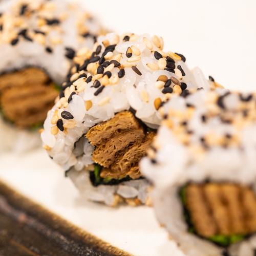 oryza sushi uramaki tofu frit mariné