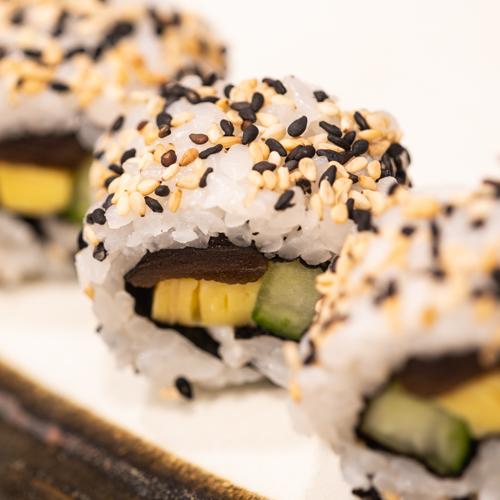 oryza sushi Uramaki Concombre-Courge-Omelette