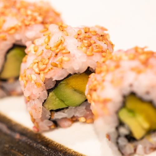 oryza sushi uramaki mangue avocat