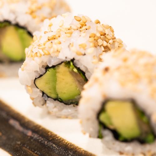 oryza sushi uramaki avocat cresson