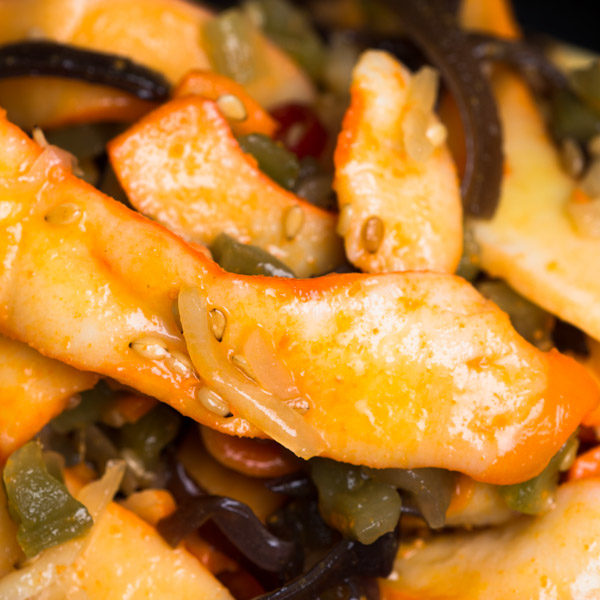 Oryza Salade calamars et légumes